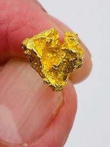 Vintage Estate 14k yellow Gold nugget tie tack Pin