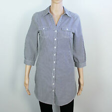 H&M Cotton Collared Long Sleeve Tops & Shirts for Women