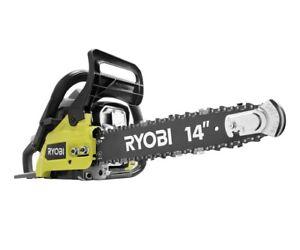 🔥NEW🔥Ryobi RY3714 Gas Fuel Powered Chainsaw 14 Inch Bar 2 Cycle 37cc ChainSaw