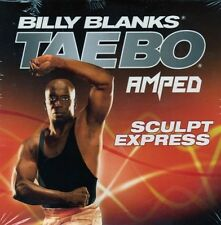 Billy Blanks Tae Bo Cardio Kickboxing TAE BO AMPED Sculpt Express!