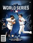 2021 OFFICIAL MLB WORLD SERIES PROGRAM ATLANTA BRAVES HOUSTON ASTROS SHIPS 11/1