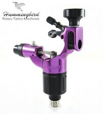 HUMMINGBIRD Aluminum Rotary Tattoo Machine RCA Liner Shader Supply Ink (PURPLE)