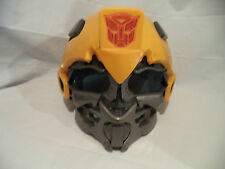 Transformers Robots Yellow Helm with voice speaker.
