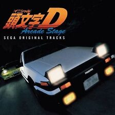 0299 New Initial D Arcade Stage SEGA Original Tracks MICA CD Music Japan Anime