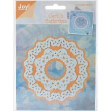"""Joy! Crafts Cut&Embossing Dies ~ Butterfly Circle, Inner 3"""" & Outer 4"""" RETIRED!"""