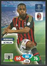 Panini Adrenalyn 2013-14 Champions League #187 AC MILAN - ROBINHO