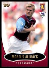 Topps Premier Gold (2003) Marcus Allback Aston Villa No. AV2