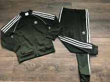 Adidas Tracksuit Olive Green Age 6-7 Years