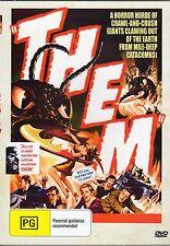 THEM ---  RARE 1954 HORROR MOVIE NEW ALL REGION DVD