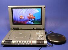 "DuraBrand* 9"" Portable Stereo DVD Player PDV-709 - S-Video, RCA, Coax Outputs"