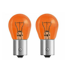 2x GE General Electric 12V PY21W BAU15S orange Glühlampe Glühbirne Blinker Lampe