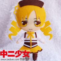 Puella Magi Madoka Magica Tomoe Mami DIY Handmade Toy Keychain Bag Plush Doll
