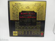Teatro Alla Scala - Giuseppe Verdi La Forza del Destino 3 LP Set Vinyl Record VG