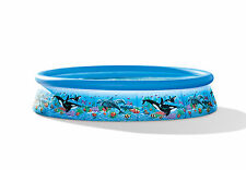 "INTEX 12' x30"" Ocean Reef Easy Set Swimming Pool & Filtration Pump   54905EG"