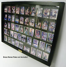 Baseball Card Display Case holds 50 ungraded Cards 06B