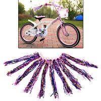 Bicycle Bike Streamers Tricycle Kids Girls Handlebar Grips Tassels 2 Pack ODCA