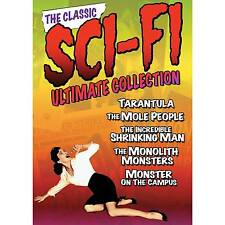 The Classic Sci-fi Ultimate Collection Volume 1 Five Movies 3 DVDs