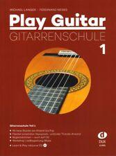 Michael Langer Play Guitar Gitarrenschule 1 Noten mit CD