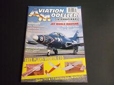 VINTAGE AVIATION MODELLER INTERNATIONAL MAGAZINE NOV 1997 R/C PLANE *VG-COND*