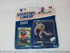 1989 Starting Lineup Roger Clemens Boston Red action figure Kenner MLB card NOS
