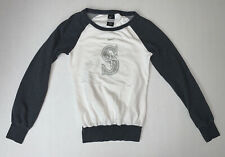 Nike Seattle Mariners Women's Sweatshirt Size XS White Gray