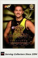 2018 AFL Footy Stars GOLD Brownlow Predictor Card BPG107 S.GRIGG(024) - Richmond