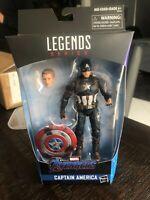 Marvel Legends Avengers: Endgame Captain America Power Glory with Mjolnir Hammer