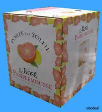 (5,33€/L)Porte du Soleil Rosé & Pamplemousse (WineBag),2,25 L