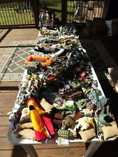 Huge Lot Vintage GI Joes, Accessories and other Military Toys