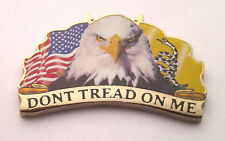 USA EAGLE DON'T TREAD ON ME  Pro-Gun Pro-Trump Hat Pin P63203 EE