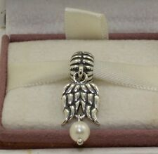 "AUTHENTIC PANDORA CHARM"" Guardian angel, white pearl .790975P #527"