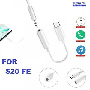 SAMSUNG GALAXY S20 FE Special Edition USB Type C to 3.5mm AUX Headphone Adapter