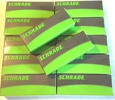 DEALER'S LOT of 12 Schrade: 6 SCH107 + 6 SCH107S Liner Lock Knives AUTHENTIC