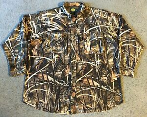 Cabela's Advantage Max 4 HD Men's Button Front Camouflage Hunting Shirt - 2XL