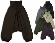 Pantaloni da donna harem medi cotone