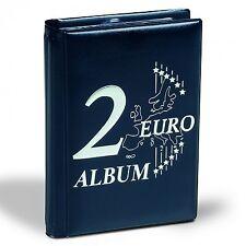 """Album de poche spécial monnaies """"2 euros commémoratives""""."""