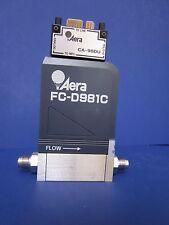 Aera FC-D981C Mass Flow Controller, w/ CA-98DU Module, Multi Gas, -7.5SLM