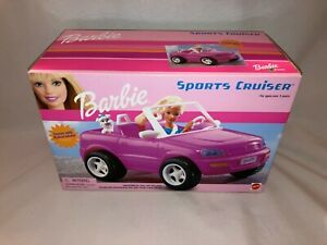 Barbie Sports Cruiser w/ Puppy #67789, 2001 - NRFB