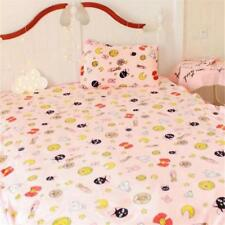 Anime Sailor Moon Pink Flannel Throws Warm Air Conditioner Blanket Home Decor us