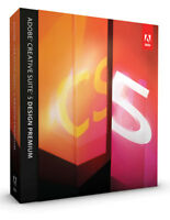 Adobe Photoshop CS5 Extended + Indesign + Illustrator MAC deutsch VOLL RETAIL