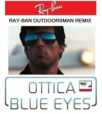 Occhiali da Sole RAYBAN REMIX rb 3030 OUTDOORSMAN Sunglasses Cobra Stallone Nero