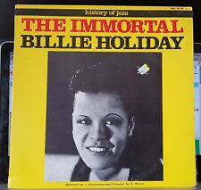 The Immortal Billie Holiday - History of Jazz - 1971 Joker LP record