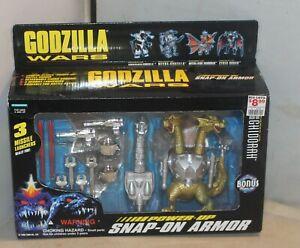 Godzilla Wars Mecha King Ghidorah Power Up Snap On Armor Action Figure 1995