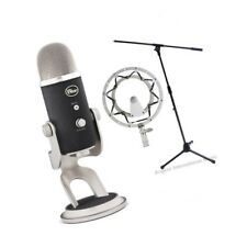 Blue Microphones Pro Yeti USB Microphone with Boom Stand Radius 2 Shockmount
