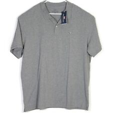 NWT Vineyard Vines Mens Polo Shirt Size 2XL Stretch Gray Embroidered Whale Golf