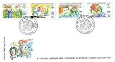 CYPRUS 2000 OLYMPICS FIRST DAY COVER