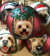 Dog Inspired christmas ornaments