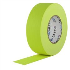Pro Gaff Fluorescent Yellow Gaffers Tape 2 inch x 50  yards