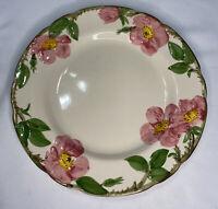 """Vintage Franciscan Desert Rose Dinner Plate 10 5/8"""" USA  Backstamp 1950-1960s"""