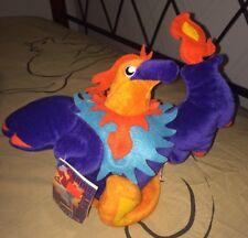 """RARE NWT New 10"""" Atlanta, GA 1996 Olympics Paralympics BLAZE Phoenix Bird Plush"""